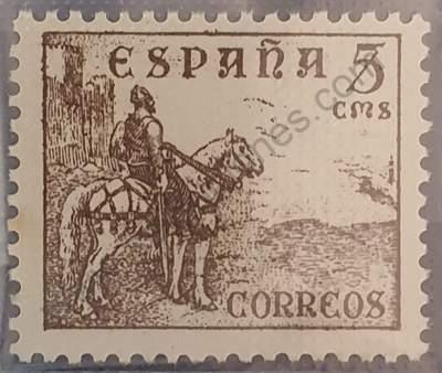 El Cid - Sello España 1949 5c
