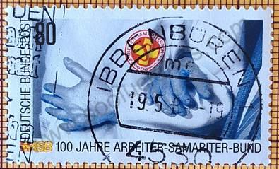 Asociación de Trabajadores Samaritanos - Sello Alemania 1988
