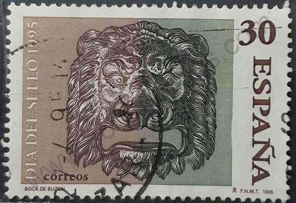 Sello Buzón siglo XIX - España 1995