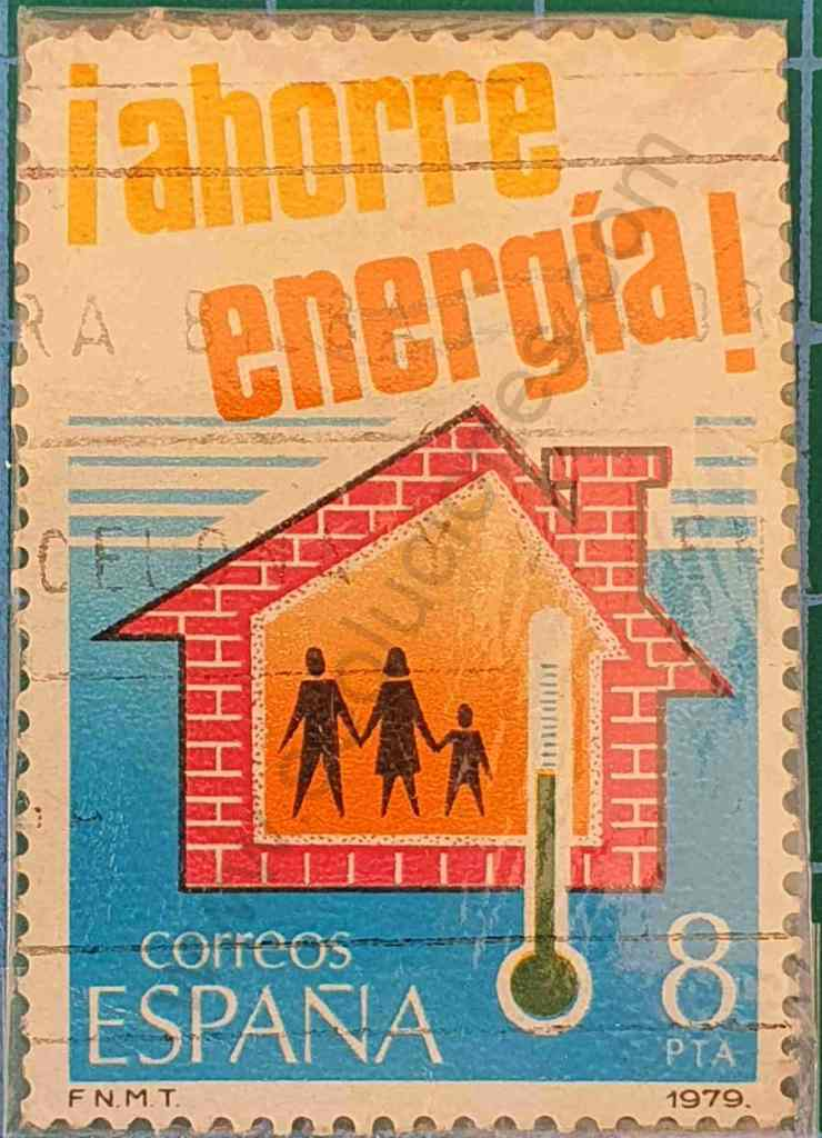 Aislación térmica - Sello España 1979