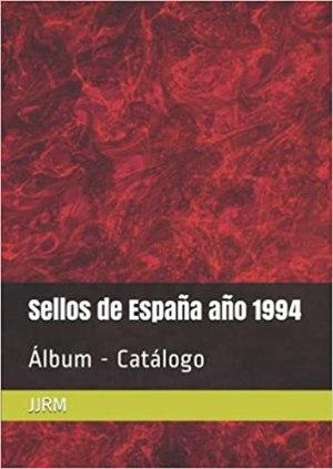 Album Catalogo sello de España 1994