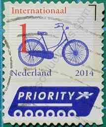 Bicicleta - Sello Países Bajos 2014