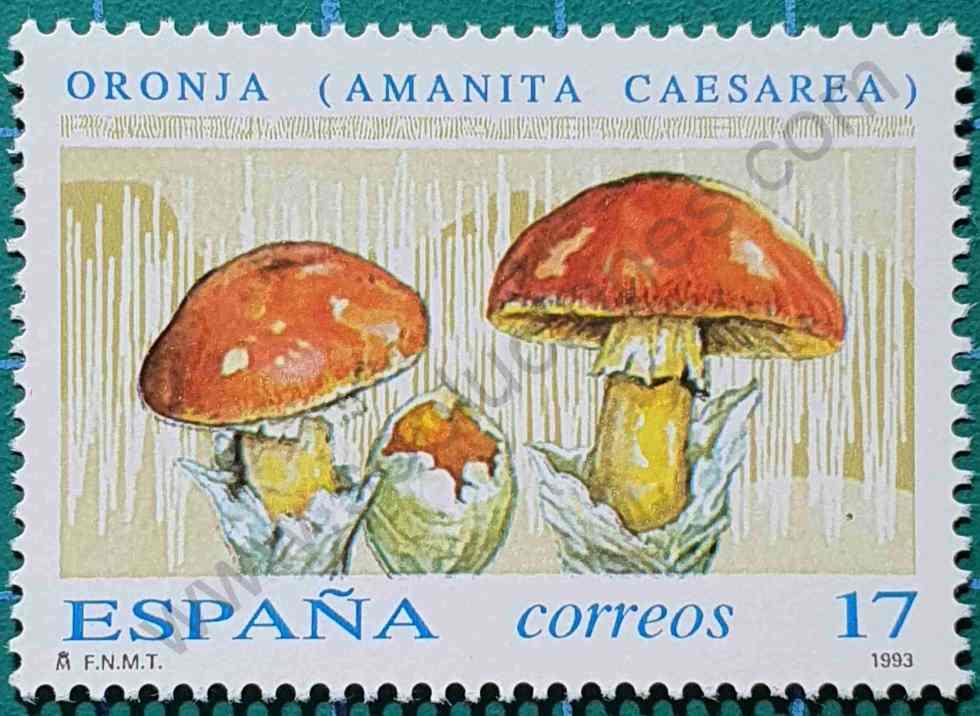 Oronja - Sello España 1993 - Micología