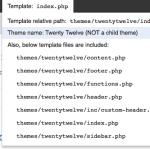 2 méthodes pour afficher les fichiers  inclus d'une page pour debug dans WordPress