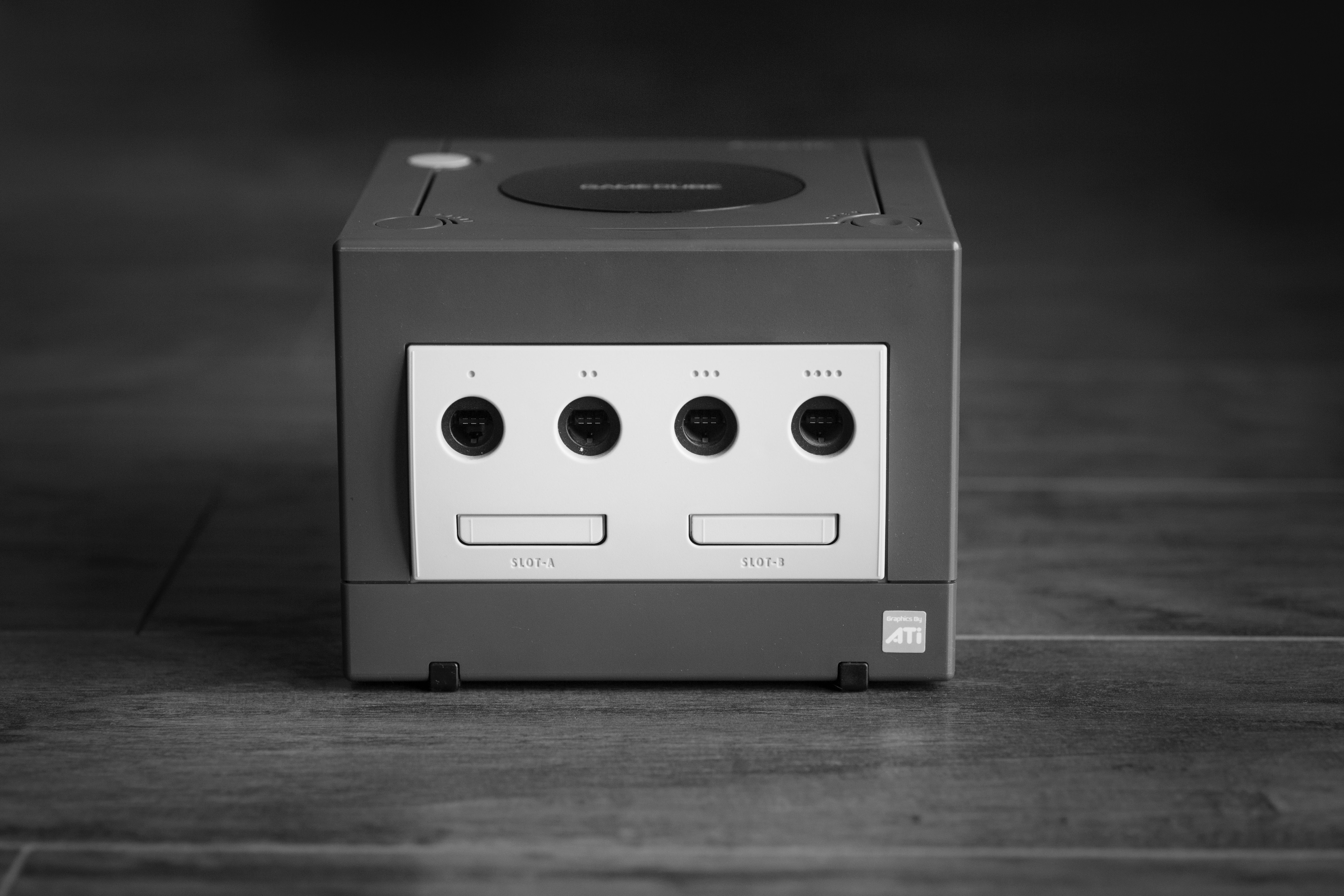 picture of a Nintendo GameCube