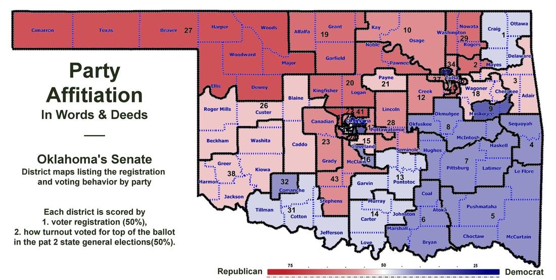 Muskogee Politico Draws New Party Affiliation Map OKG News