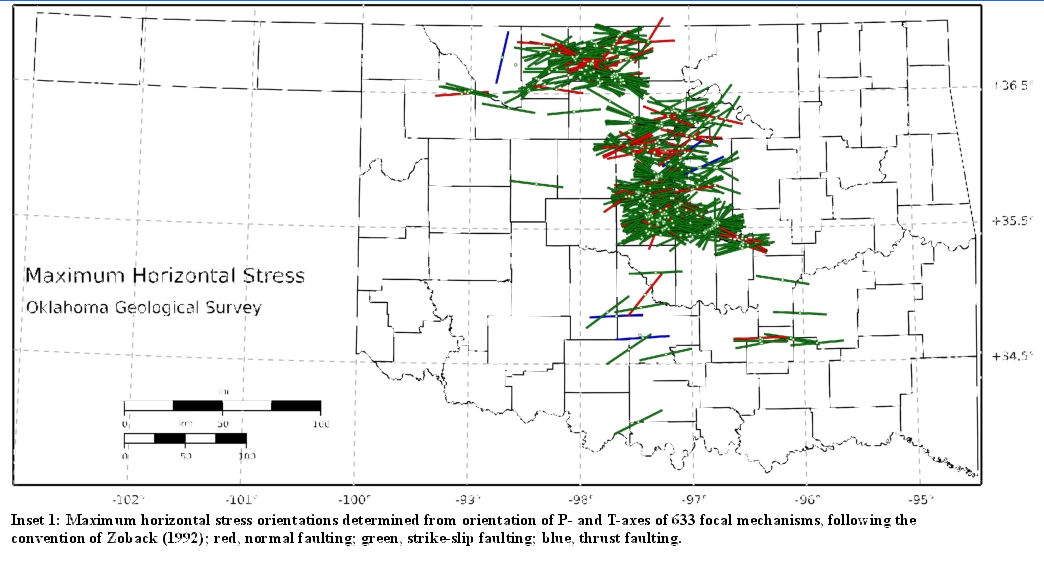 Oklahoma\'s Known Quake Faultlines – OKG News