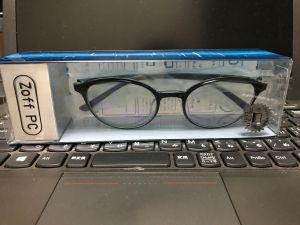 ブルーライトカットPC用メガネを買いました