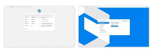 WordPress vs Drupal Installation