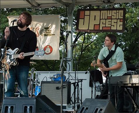 The Grownup Noise at 2013 Jamaica Plain Music Festival