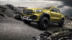 Mercedes-Benz revelou a sua nova pickup X-Class Concept! É impressionante!