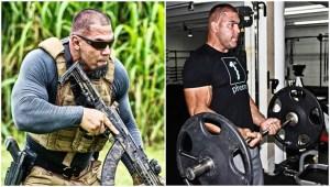 Vais ficar de boca aberta quando vires o treino deste agente especial de uma equipa de SWAT!