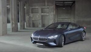 Passados 18 anos o BMW série 8 está de volta. Que poder...