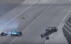 Acidente assustador de Scott Dixon na Indy 500 podia ter acabado da pior forma!