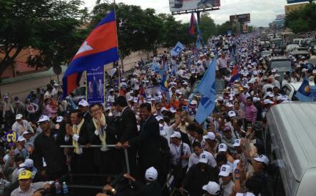 Sam Rainsy Return 1