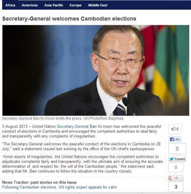 UN Statement
