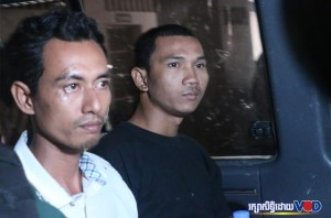 The two latest protesters are jailed including one in custody.