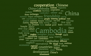 Xi's Speech in Bold run by WordCloud