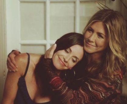 Courtney Cox + Jennifer Aniston