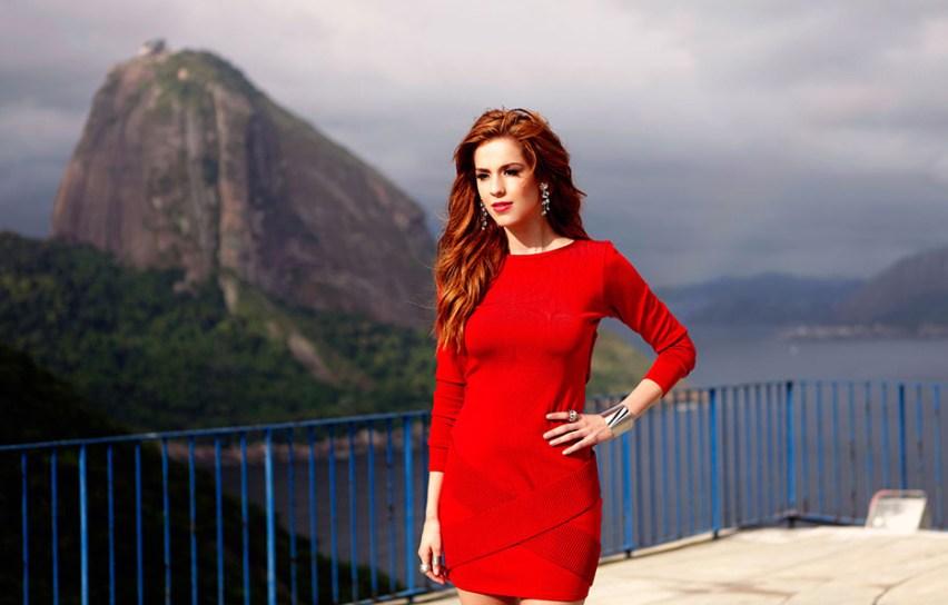 Sophia Abrahão para EGO 16