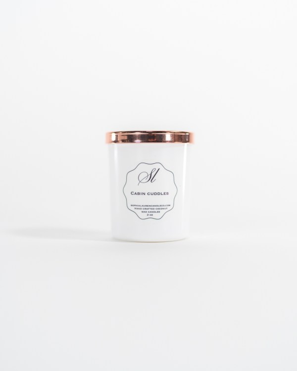 Signature style mini candle, 3 oz