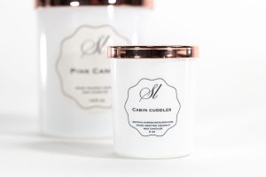 Signature style mini candle, 3 oz, scented