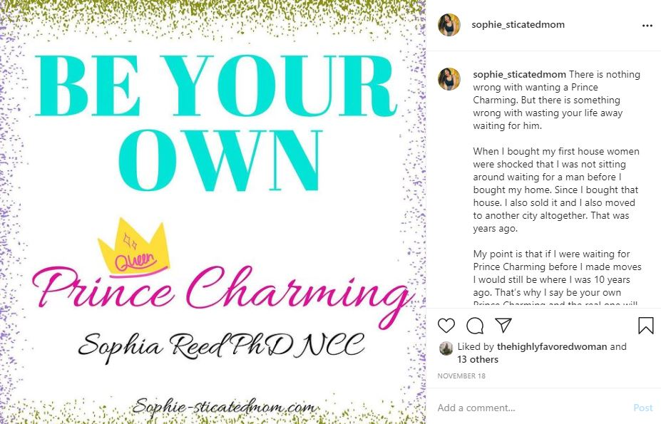 be your own prince charming