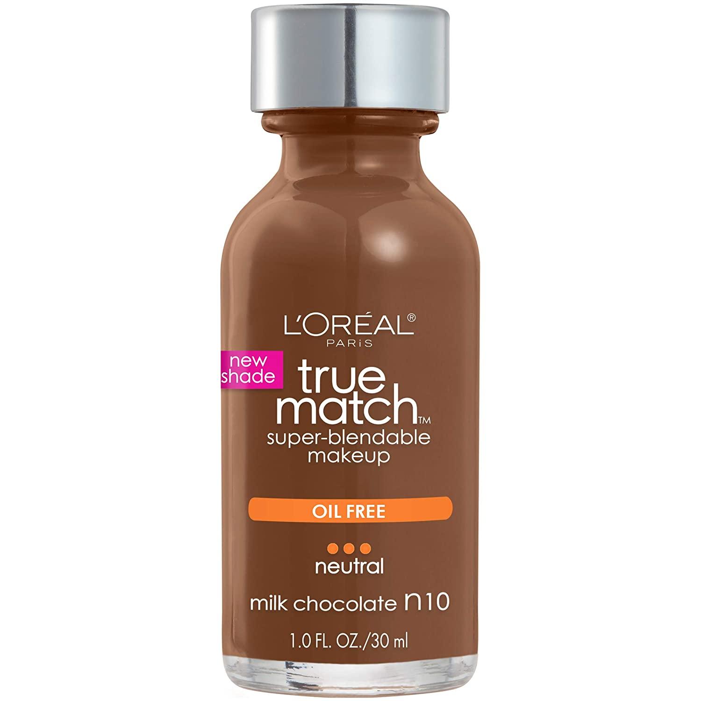 foundation for dark skin true match