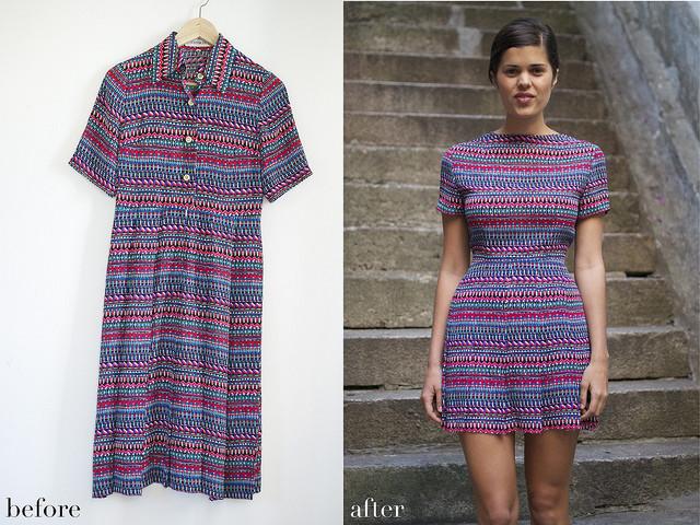 DIY clothes life hacks 15 DIY ideas #3 Revamping Clothes Ideas an Old Dress.