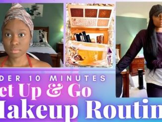 everyday makeup routine quick makeup look quick makeup routine how to get ready fast in the morning How to get ready fast