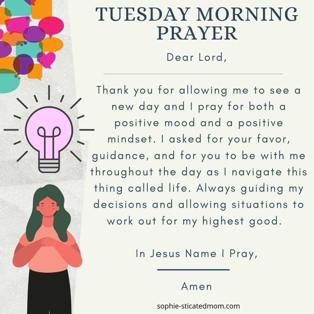 Tues Prayer