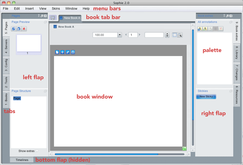 Sopie Design Interface