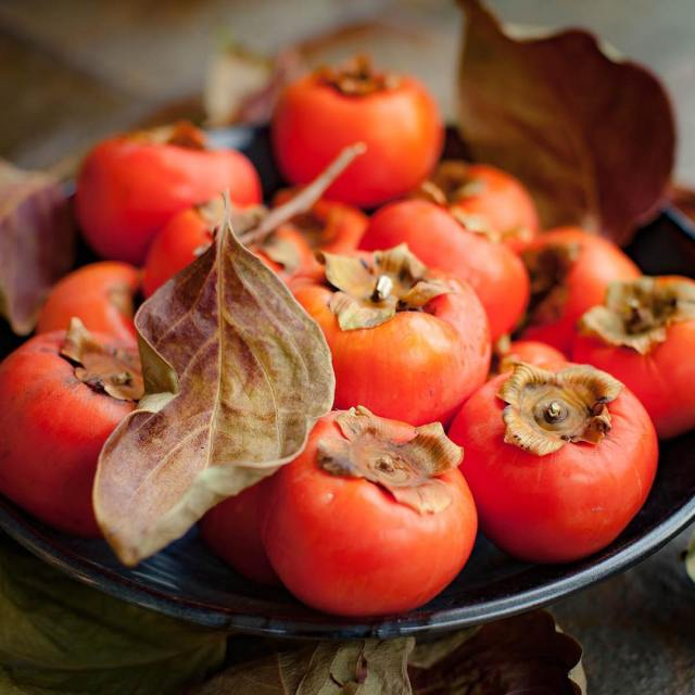 Love these gorgeous persimmons! Sunshine in a bowl! autumnfruits persimmonshellip