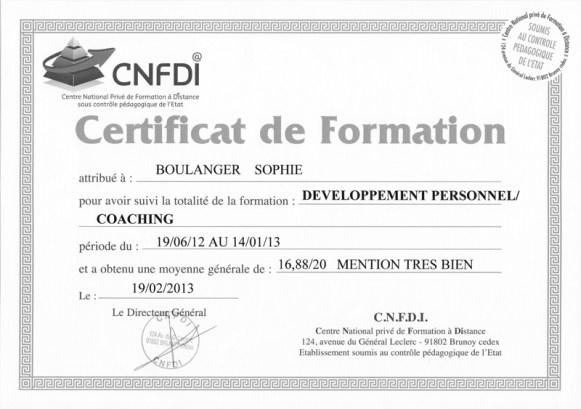 certificat coach de vie bordeaux - arcachon