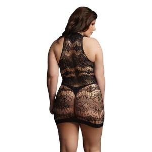 Le Desir Criss Cross Neck Mini Dress UK 14 to 20