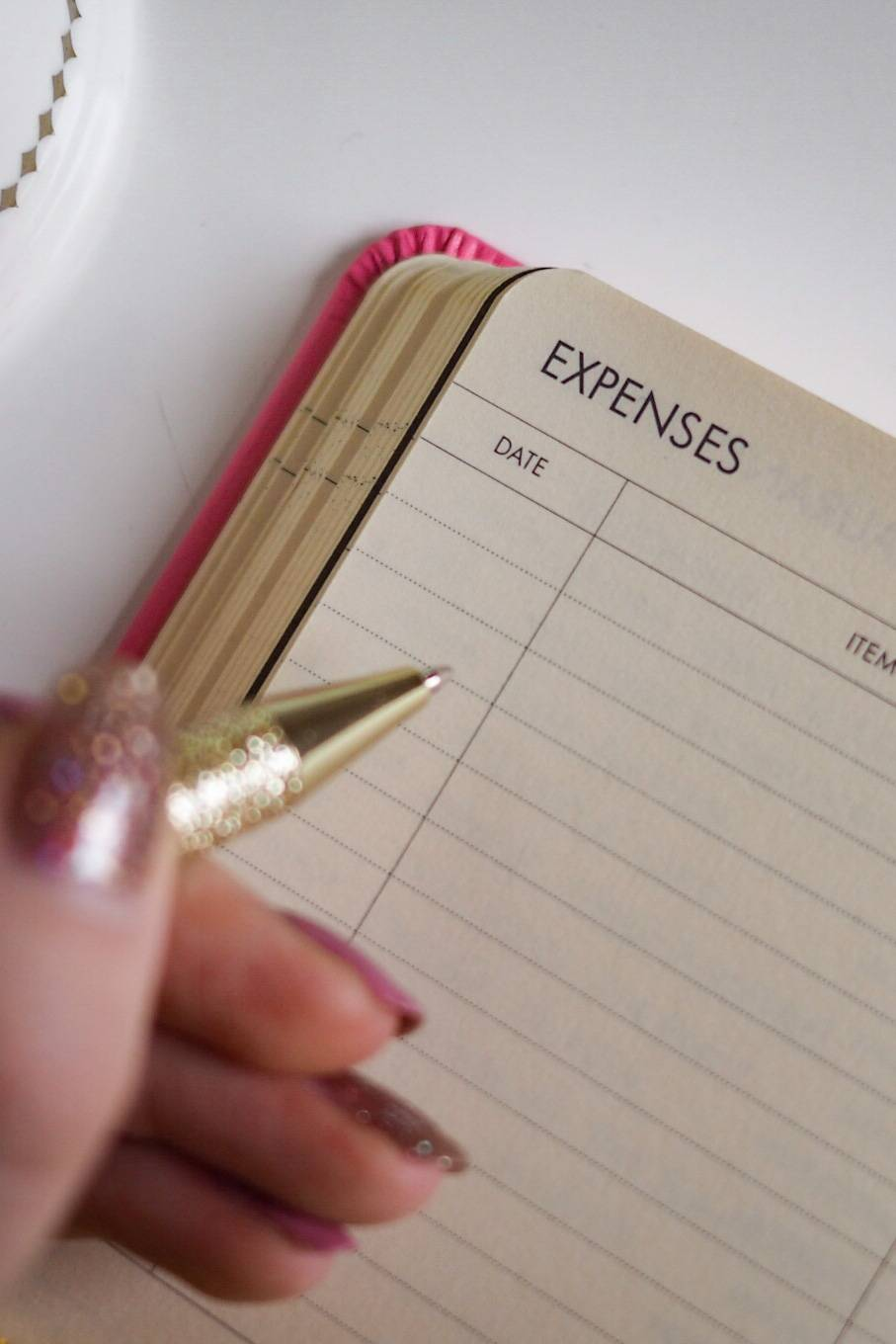 How to track your spending & use my spending tracker spreadsheet ...