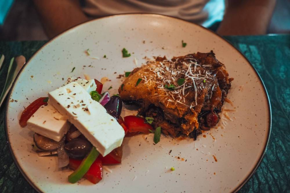 Moussaka from Greek Affaire