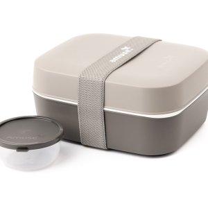 3-in-1 lunchbox grijs