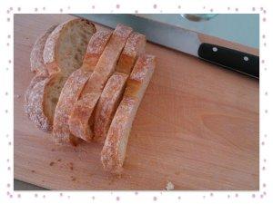 Cheese Fondue bread