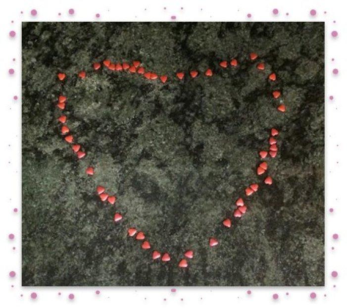 Heart framed