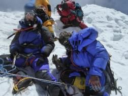 Lisa and Andreas on summit