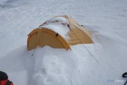 tentes au camp 3