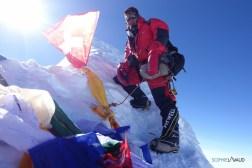 Na Dorjee au sommet