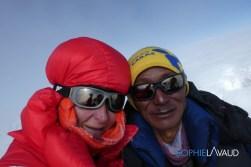 selfie au sommet avec Nima