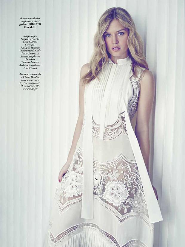 Sophie Levy  Private Fashion Consultant  GEORGIA MAY JAGGER GRACES LOFFICIEL PARIS APRIL 2015