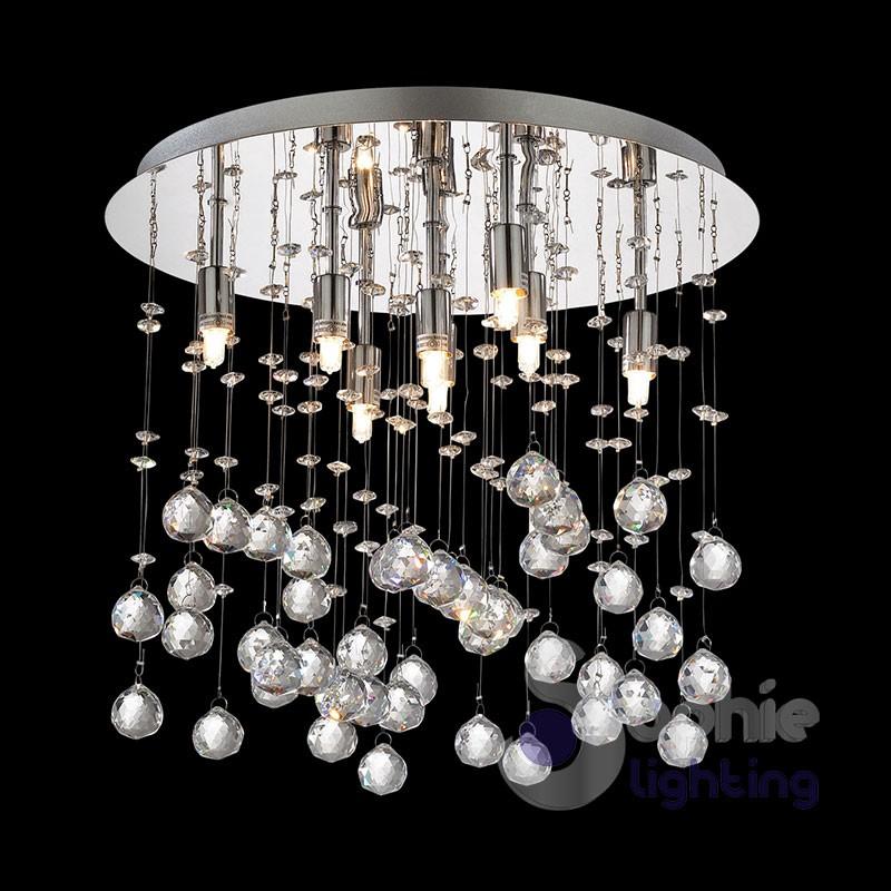 con questo elegante lampadario in cristallo, potrete decorare la vostra casa in modo esclusivo. Lampada Soffitto Pendenti Cristallo Moonlight Pl8