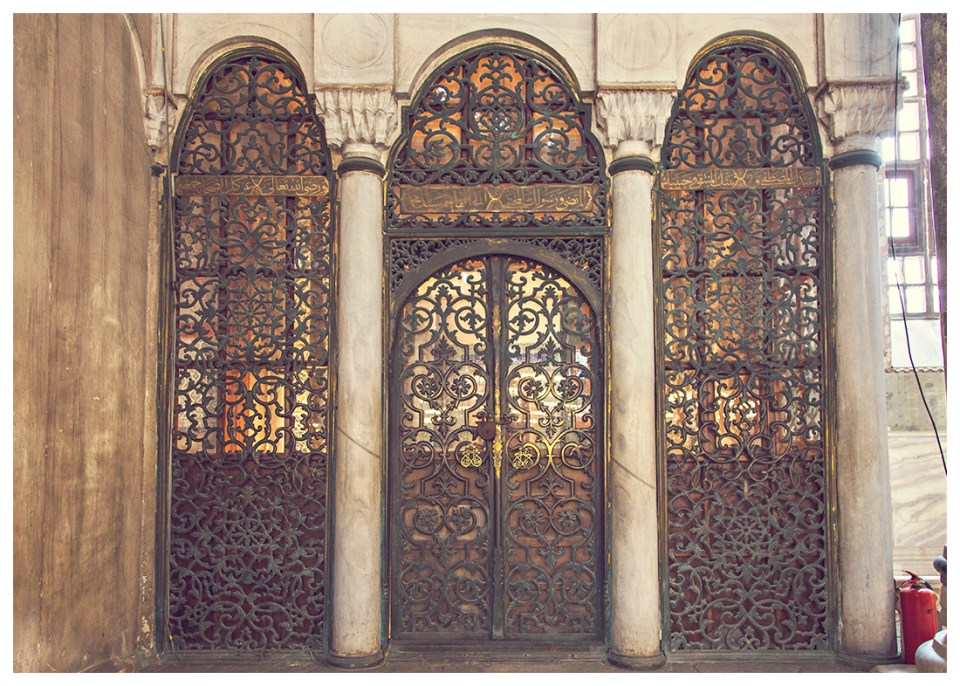 Hagia Sophia metal door
