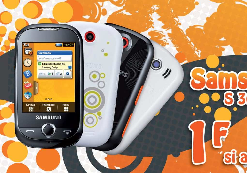 Screenshot de la campagne publicitaire Tahiti Phone
