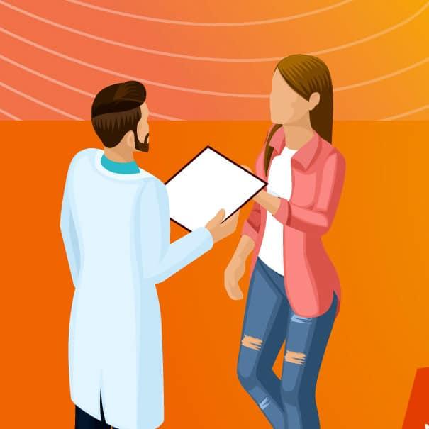 graphisme et infographie pour agence spécialisée dans le médical