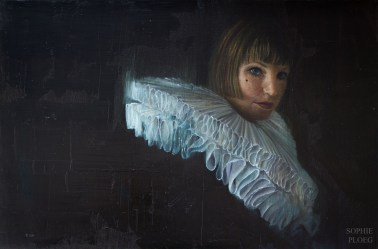 Pleating Time, Oil on linen, 40x60cm. Available